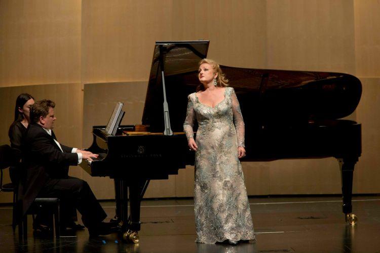 Edita Gruberova bei ihrem Liederabend am 23.7.2013 bei den Salzburger Festspielen © Silvia Lelli
