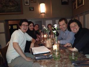 Ein gut gelaunter Berliner Stammtisch mit spannenden Gesprächen (15.2.2014)